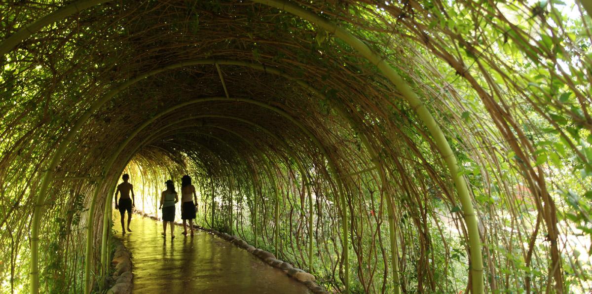 jardins le plus grand jardin de marrakech oasiria. Black Bedroom Furniture Sets. Home Design Ideas